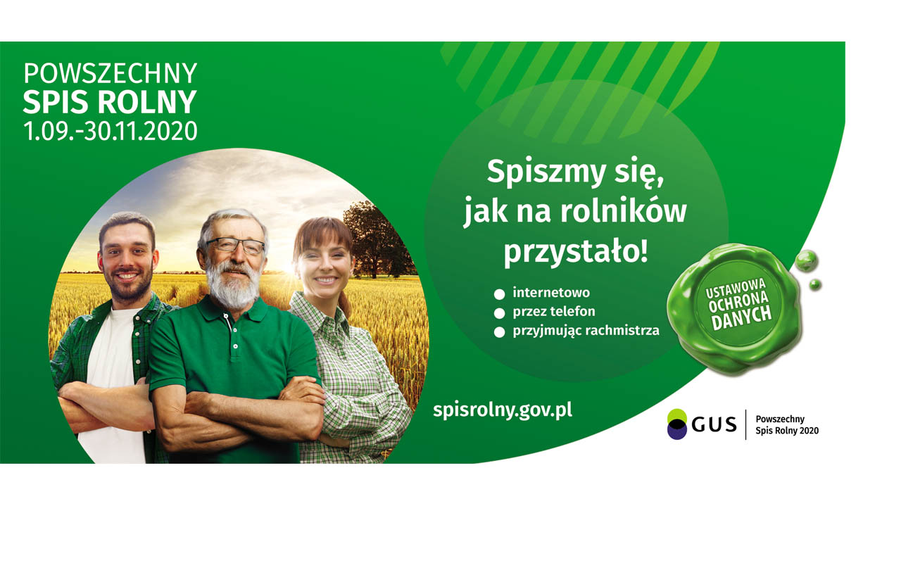 Powszechny Spis Rolny 2020 - Gmina Piątek